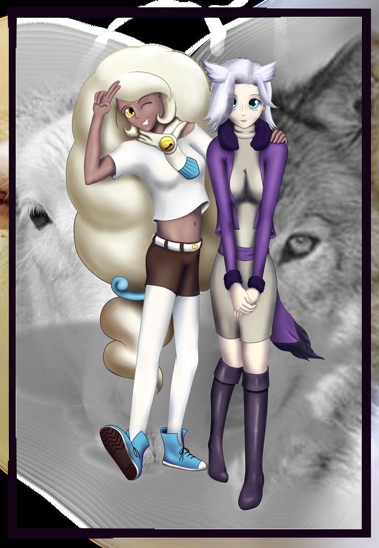 OCs - Allie and Fii