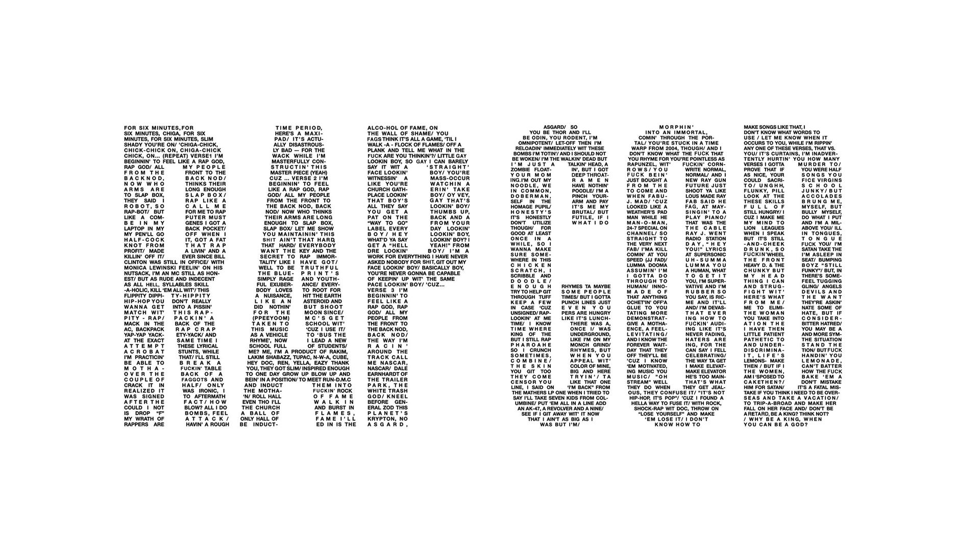 Rap God wallpaper by