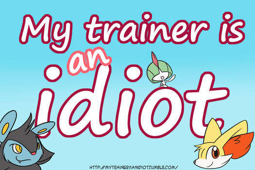My trainer is an idiot - cover