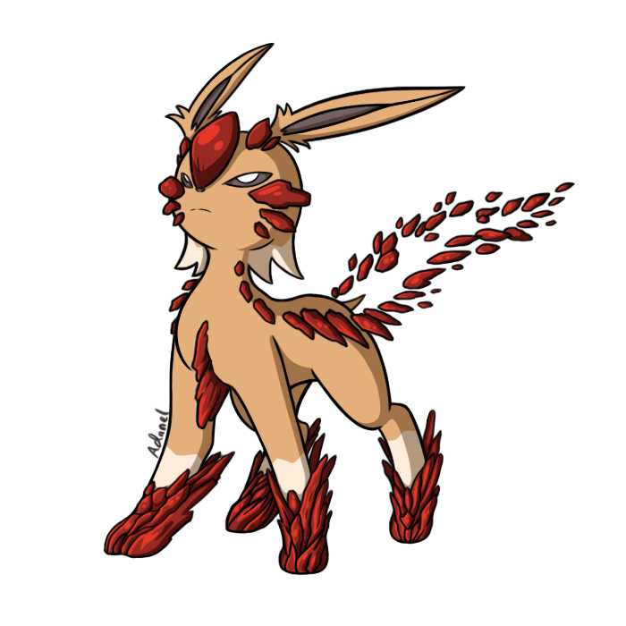 Eeveelutions All Types Deviantart
