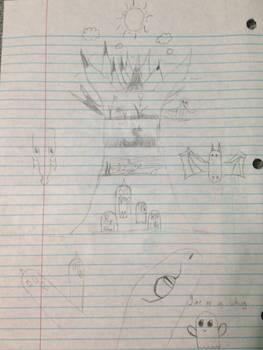 Drawing doodles of randomness