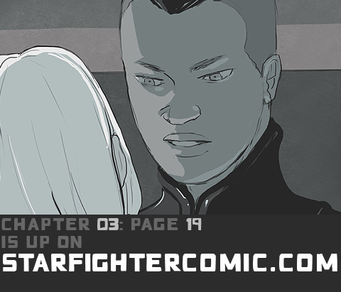 STARFIGHTER PANELS CH03 PG 19 by HamletMachine