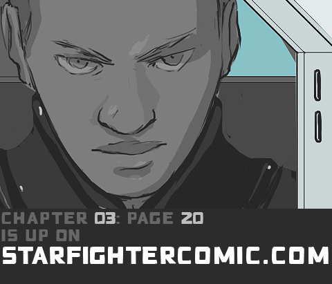 STARFIGHTER PANELS CH03 PG 20 by HamletMachine