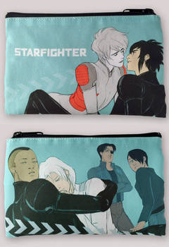 NEW STARFIGHTER COSMETIC BAGS