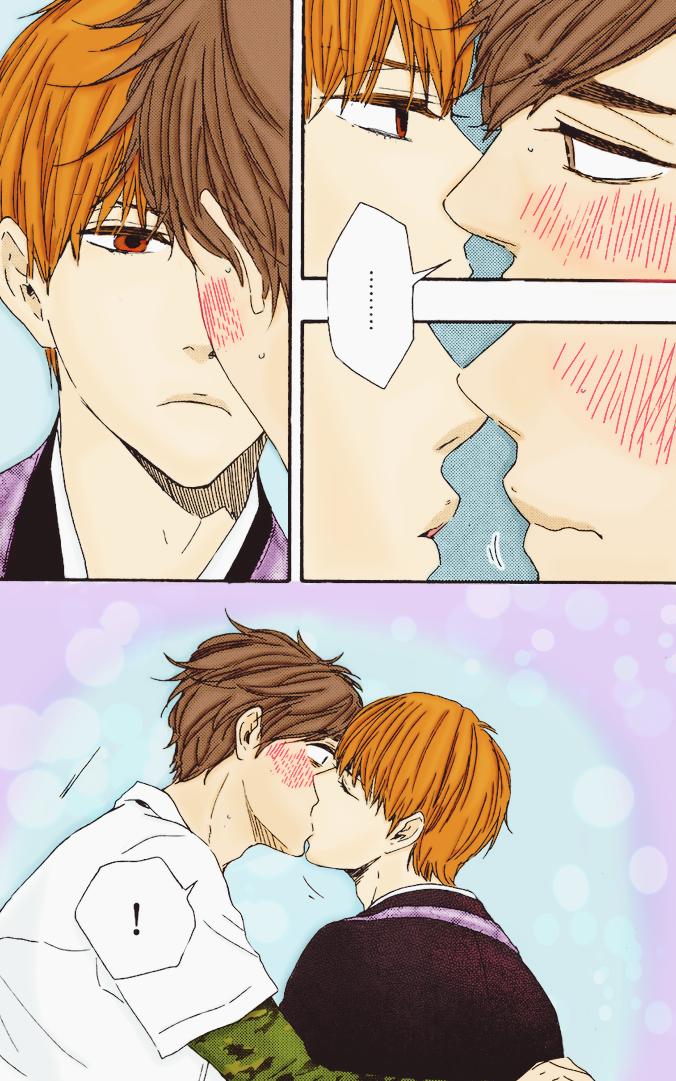 YoshitoKenji | Kissing Time by Hanacch