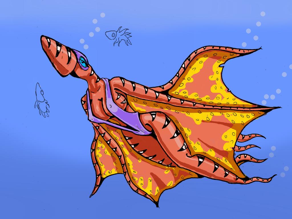 Фурри и осьминог 2 фотография