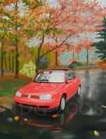 Raining in my Dreams by art-paperfox