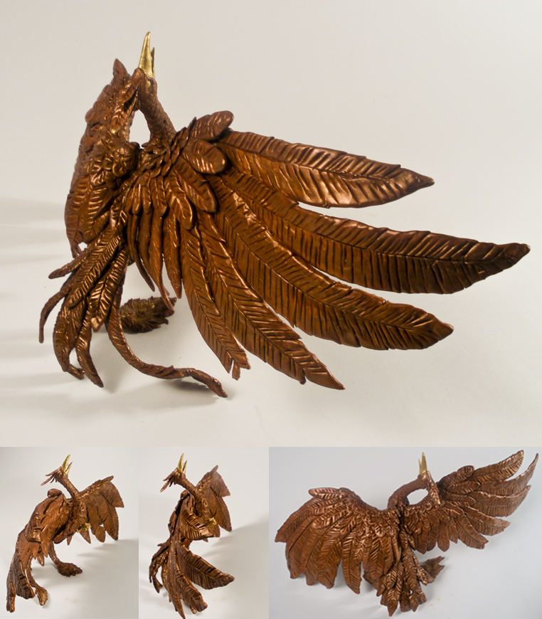 Copper Phoenix by LastMorbidRose
