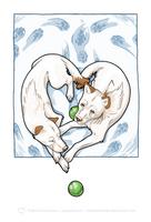 Puppy Love by art-paperfox