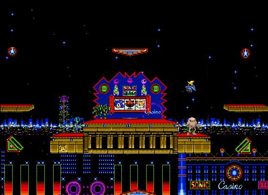 Sonic 2 casino night slots