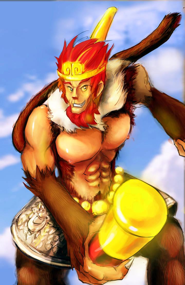 The Monkey King by VimenMelow