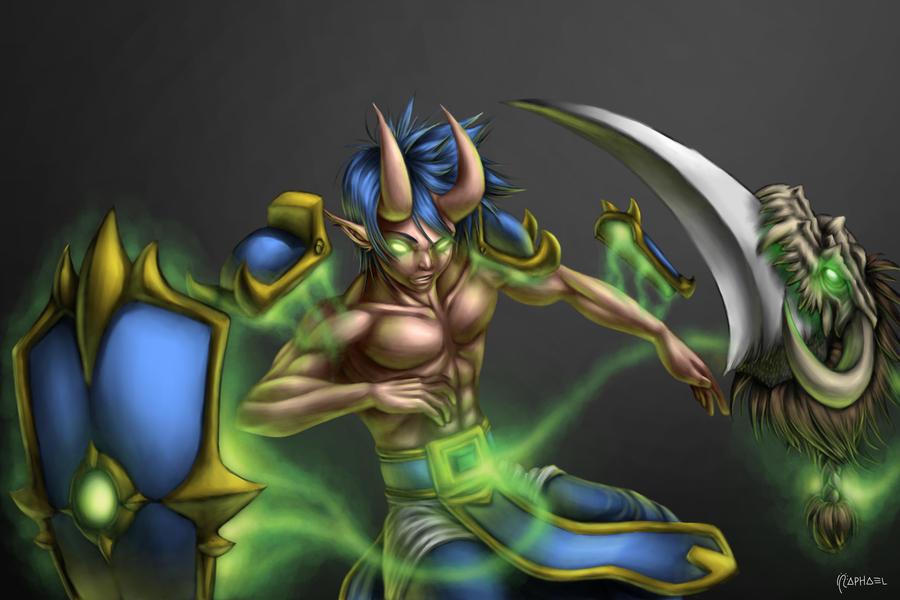 Inazuma's rotten soul by Deslaias