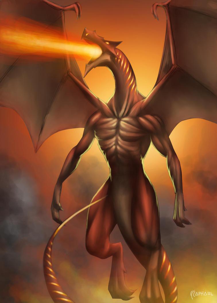 Astarot, Fire Spitter by Deslaias