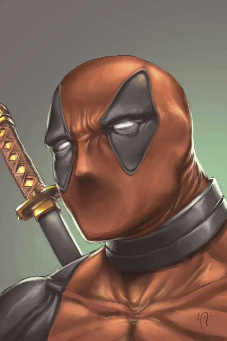 Deadpool by Deslaias