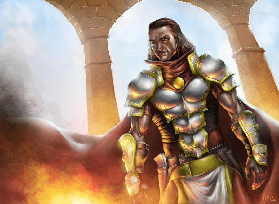 Gideon Jura, Lone Warrior by Deslaias