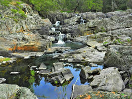 Waterfalls by SByrnes