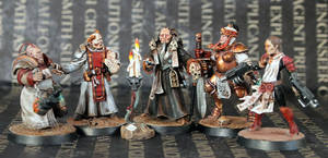 Inquisitor Machaius and Retinue