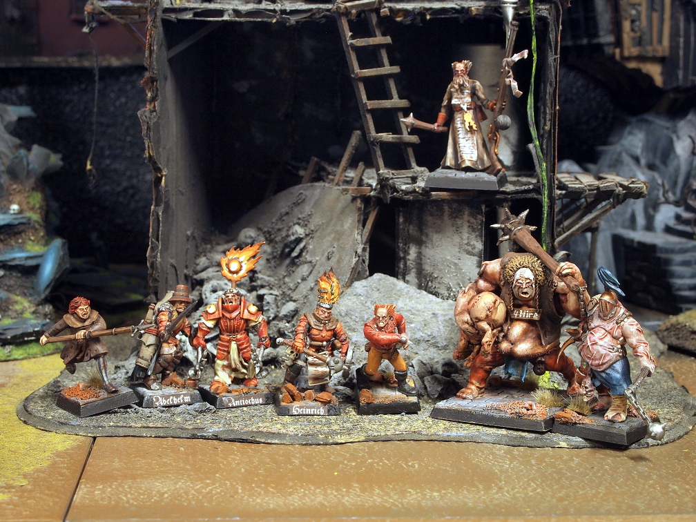 Mordheim Witch hunters Warband by Nordic-Dragon