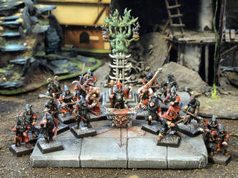 Mordheim possessed warband
