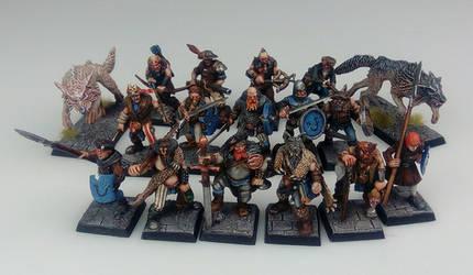 Mordheim Middenheim Mercenary Warband