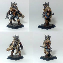 Mord Wolf Priest of ulric