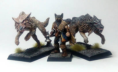 Mord Wolf Priest of ulric and wolves