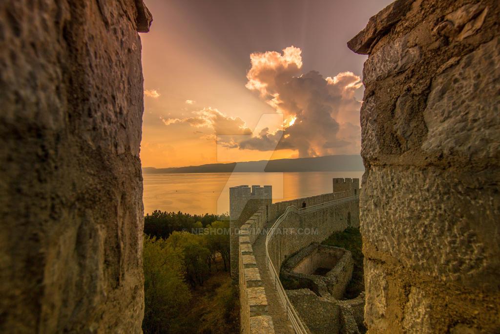 Ohrid lake - Macedonia by Neshom