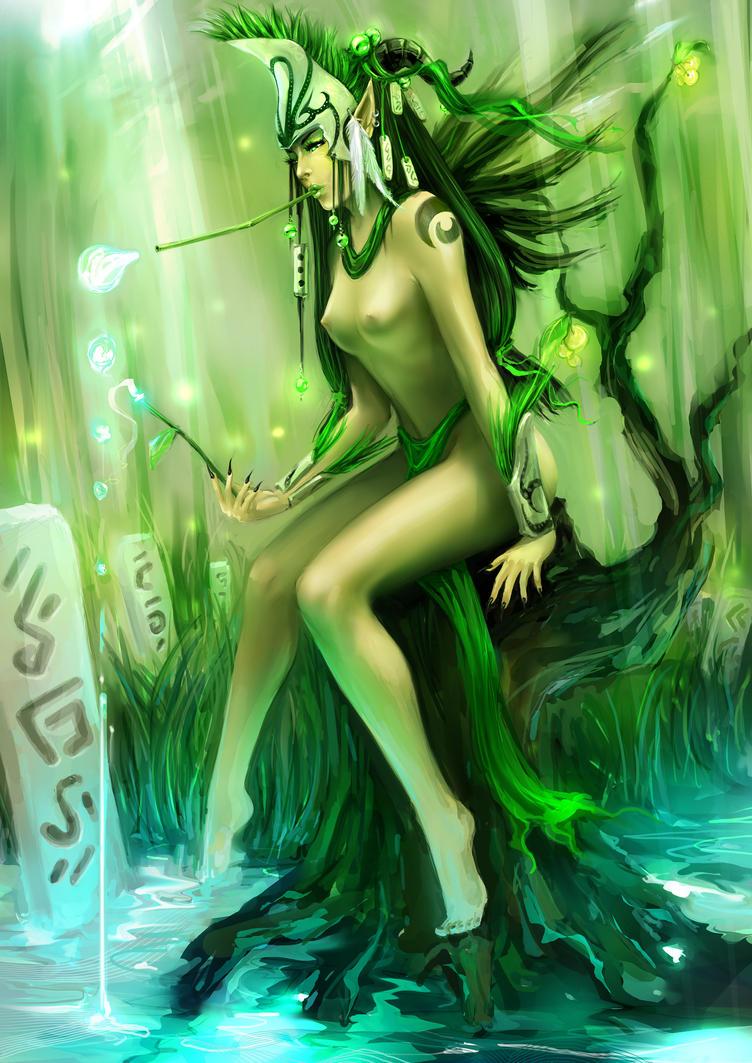 Forest Elf by aditya777