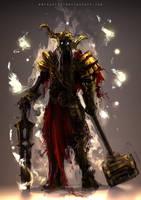 Undead Knight by aditya777