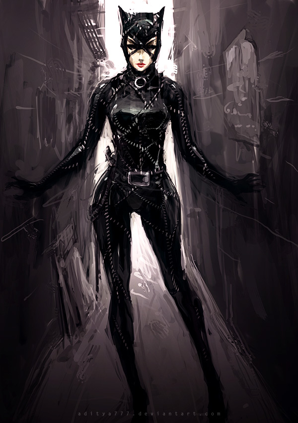 Catwoman - Fan Art by aditya777