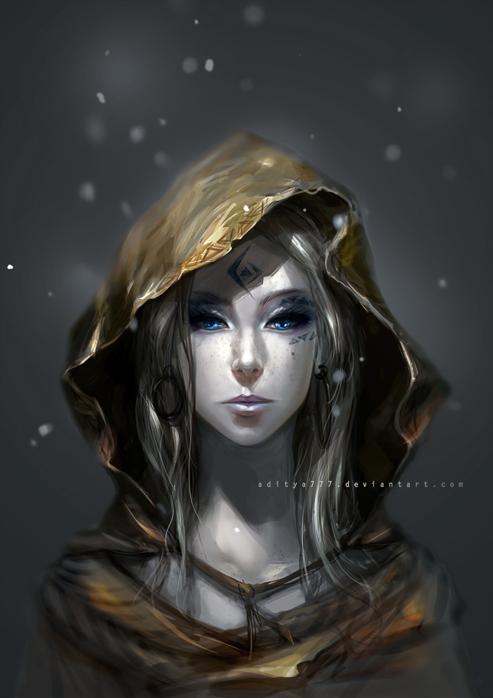 Female wizard - 01 by aditya777