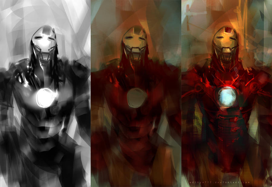 Iron Man - steps by aditya777