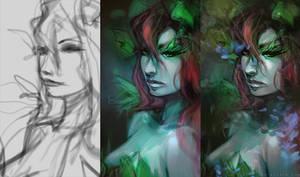 Poison Ivy - steps