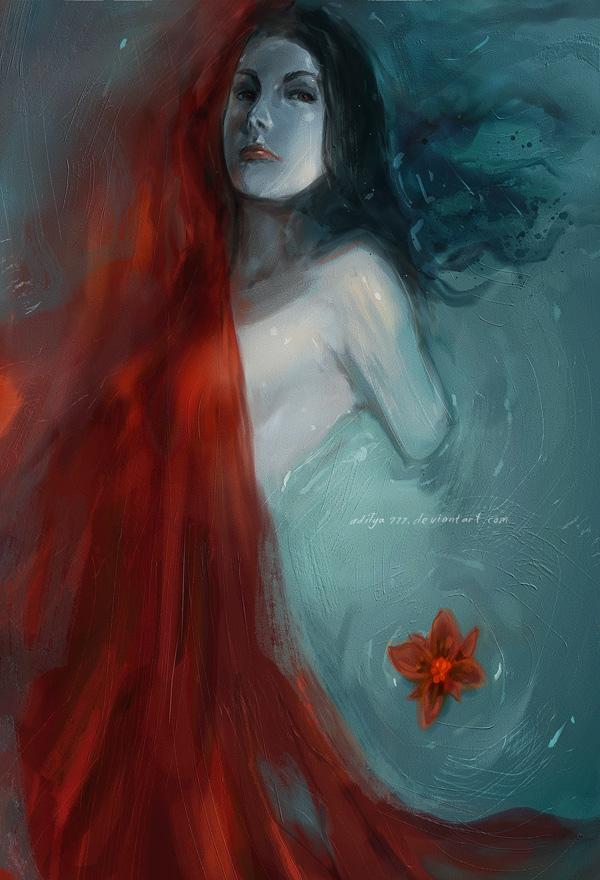 Floating Flowers by aditya777