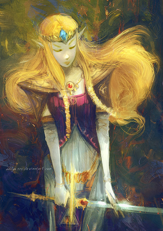 Zelda by aditya777