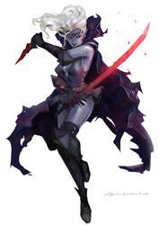 Dark elf by aditya777