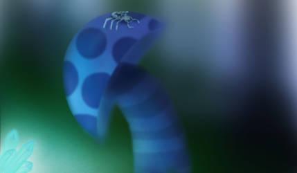 Blue shroom by PiccoToxin