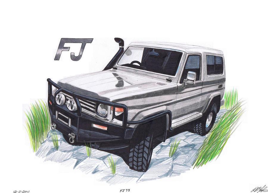 1986 Fj73 Land Cruiser By Sketch52000 On Deviantart