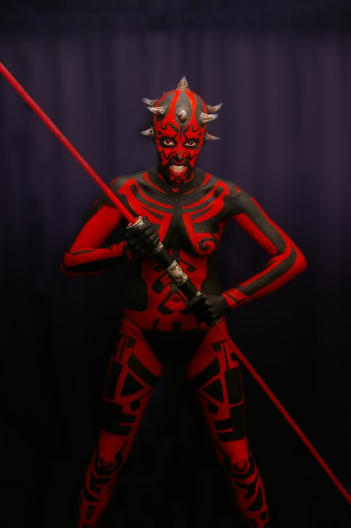 Stacey - Darth Maul-ish by marshon