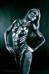Karla Aluminium Experiment 008blue by marshon