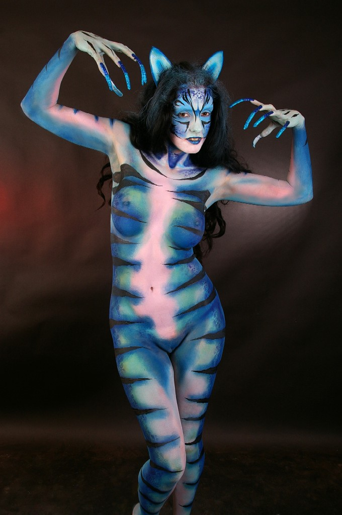 Becca Blue Cat Commission 002 by marshon