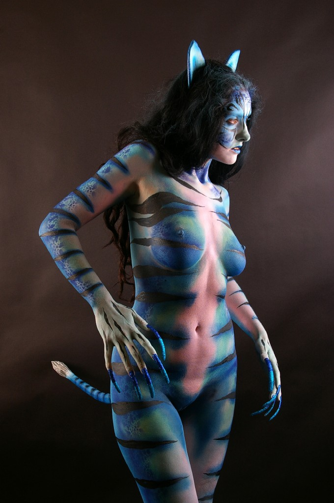 Becca Blue Cat Commission 005 by marshon