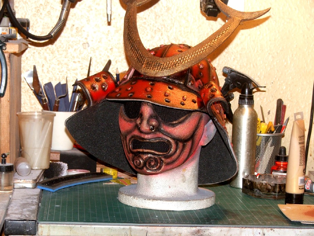 Foam Samurai Helm and Half Mask by marshon