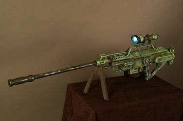Nerf conversion to Sniper Rifle by marshon