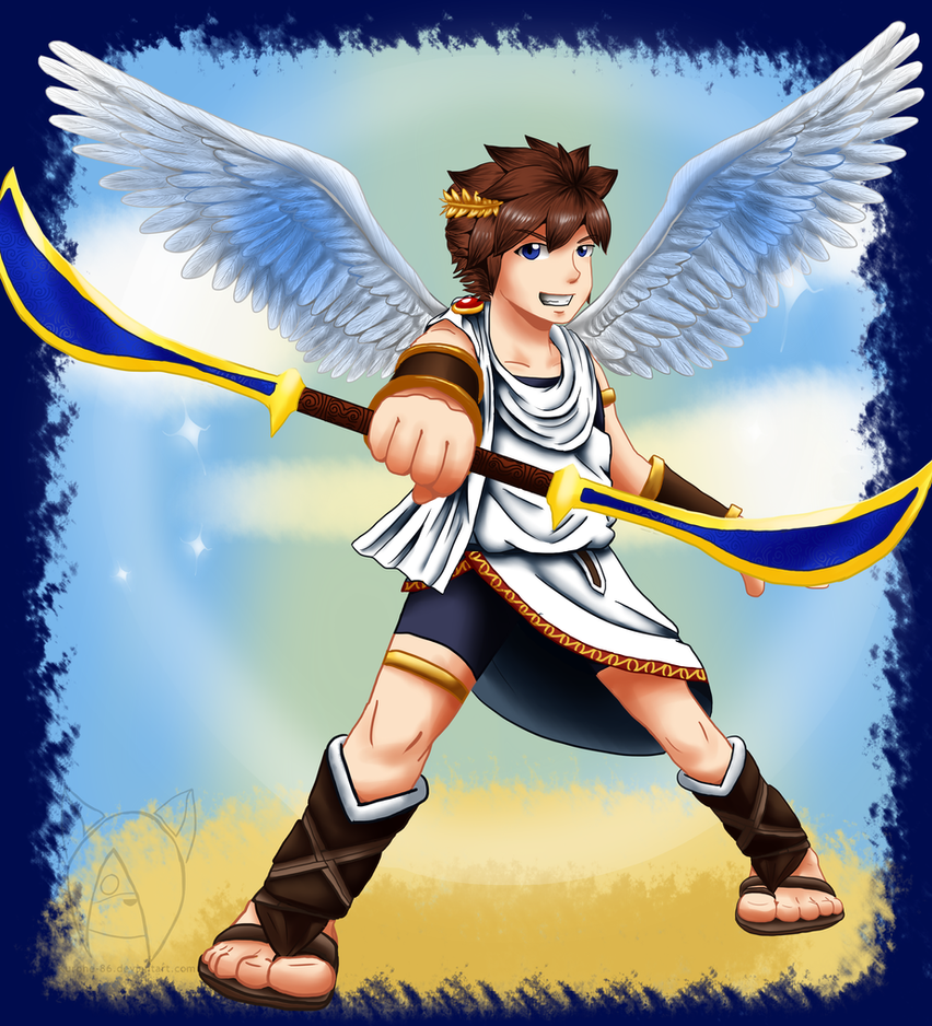 Kid Icarus Pit By Kurohe 86 On DeviantArt
