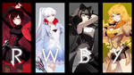 RWBY Full Poster