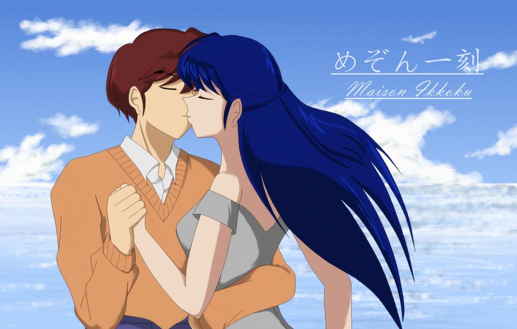 Love in maison ikkoku by estherxiao on deviantart for Anime maison ikkoku
