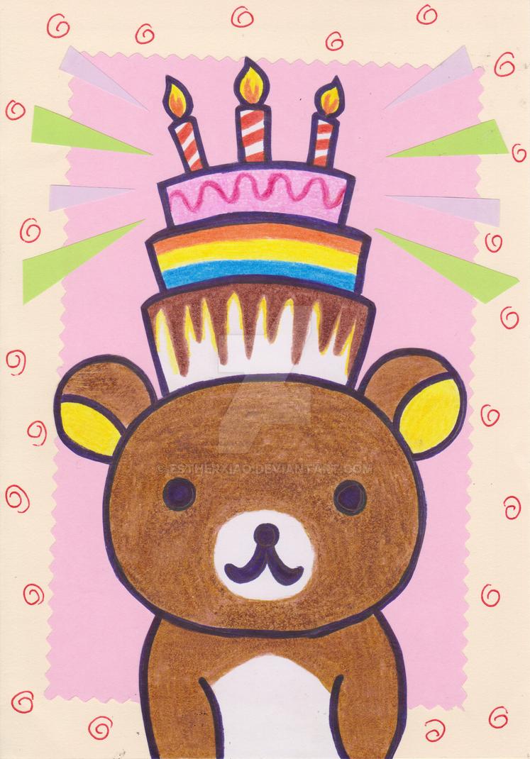 Rilakkuma Birthday Cake