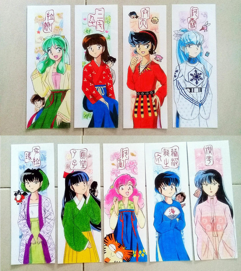 Urusei Yatsura In Hanfu Bookmarks For Sale By EstherXiao