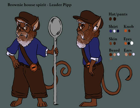 Pipp - Brownie/ Household spirit by RocaTeithmore